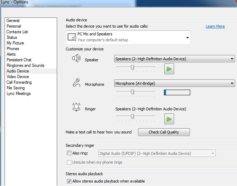 vaddio_lync_audio_options