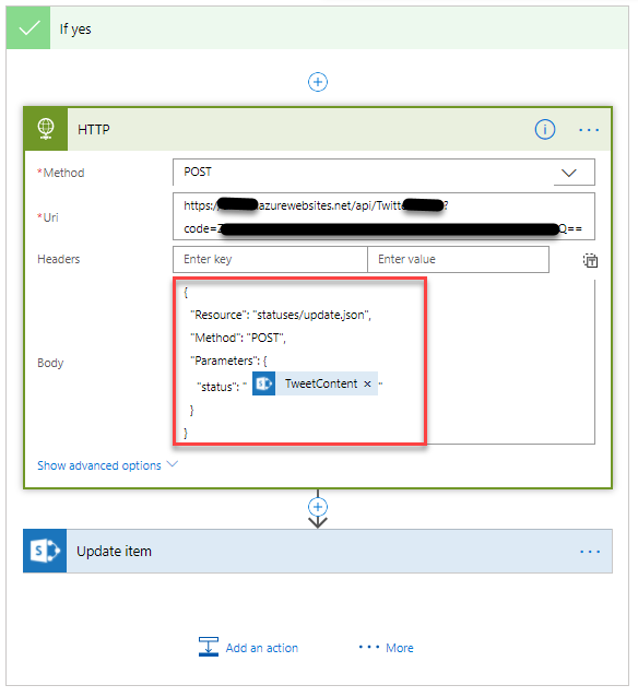 Building your own Azure Function Twitter connector for Microsoft