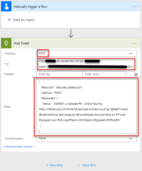 Building your own Azure Function Twitter connector for